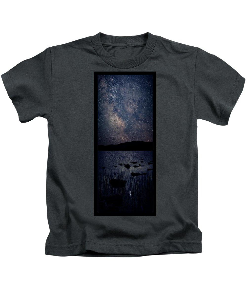 Maine Kids T-Shirt featuring the photograph Cosmic Fantasy by Robert Fawcett