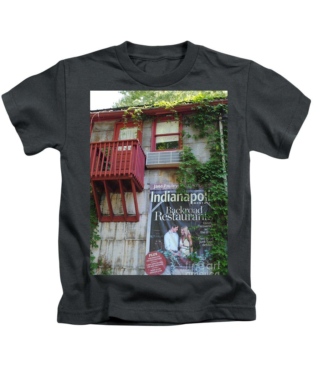 Story Kids T-Shirt featuring the photograph Country Goods by Jost Houk