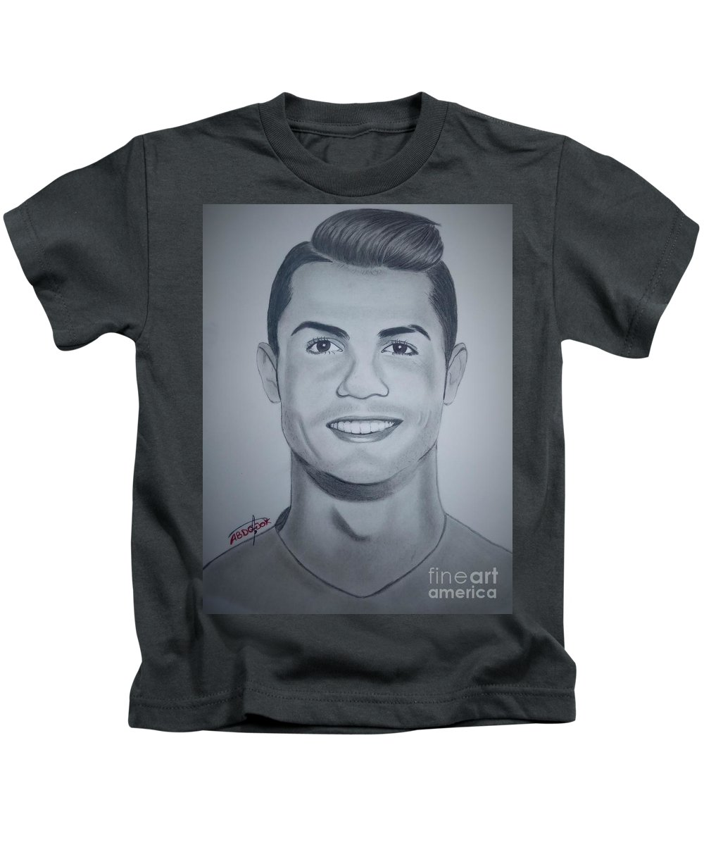 Cristiano Ronaldo Kids T Shirt For Sale By Abdo Jouk