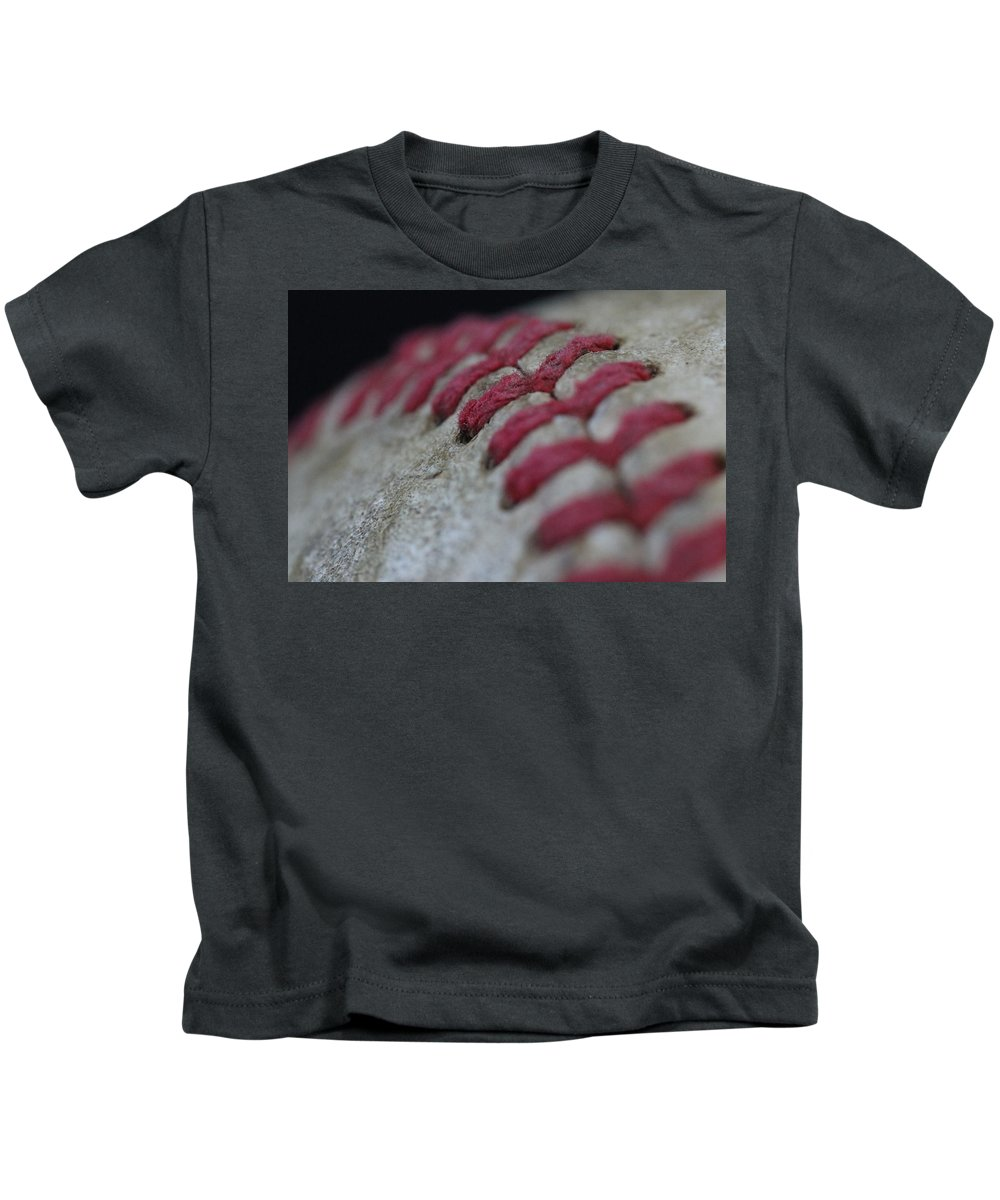 Digital Kids T-Shirt featuring the photograph Curve by Jeff Roney