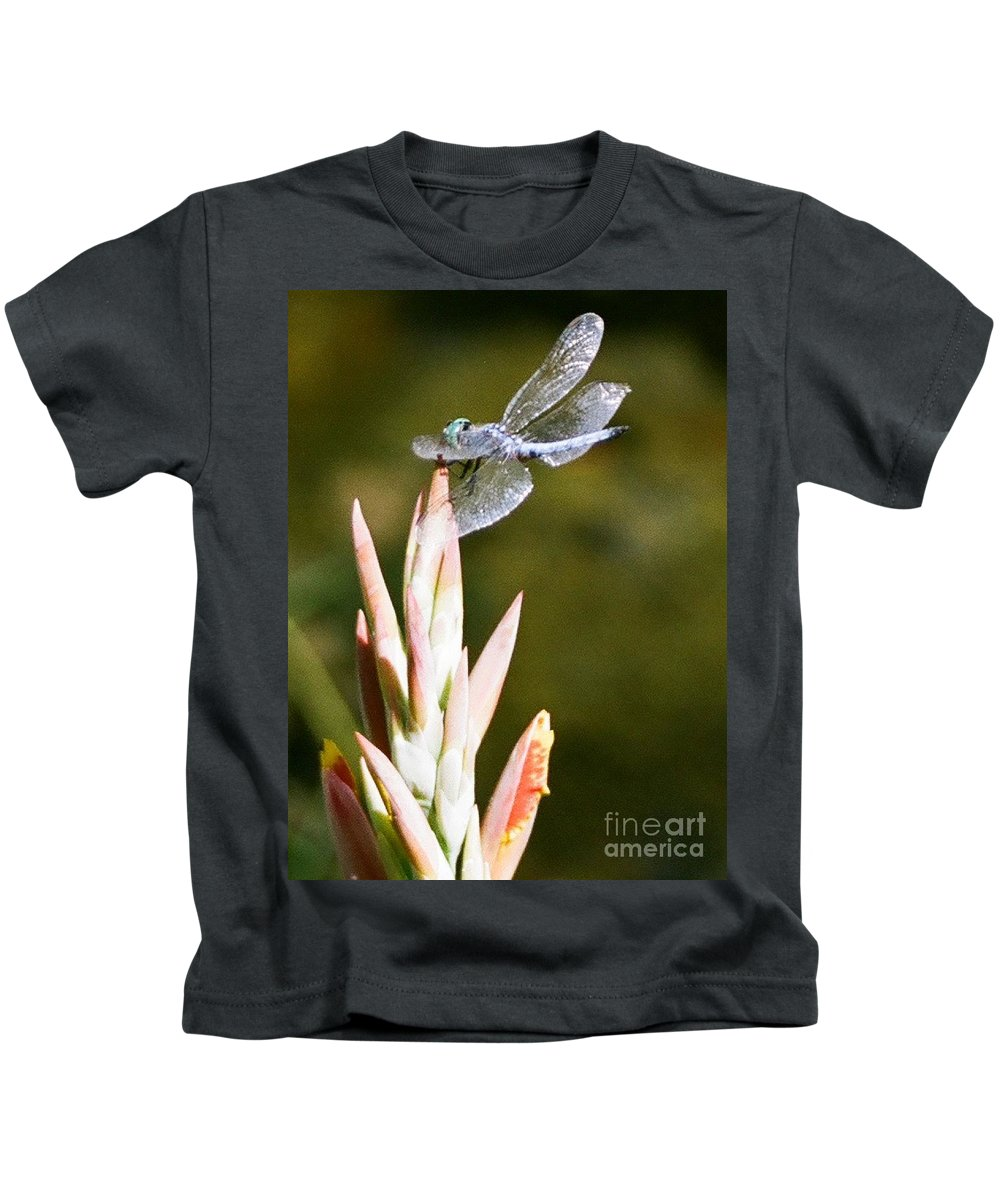 Dragonfly Kids T-Shirt featuring the photograph Damselfly by Dean Triolo