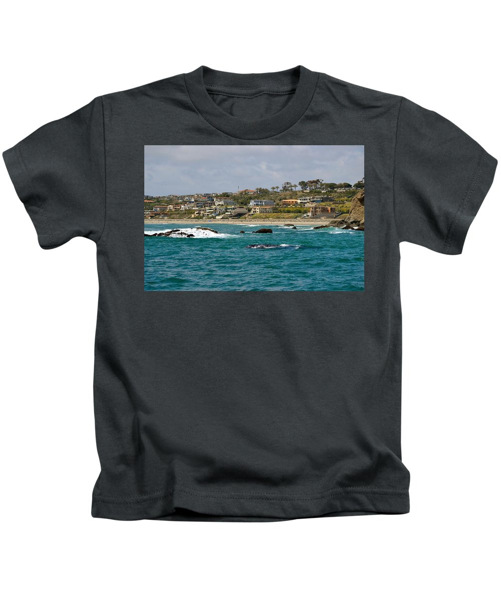 Seascape Kids T-Shirt featuring the photograph Dana Point 2 by Eileen Brymer