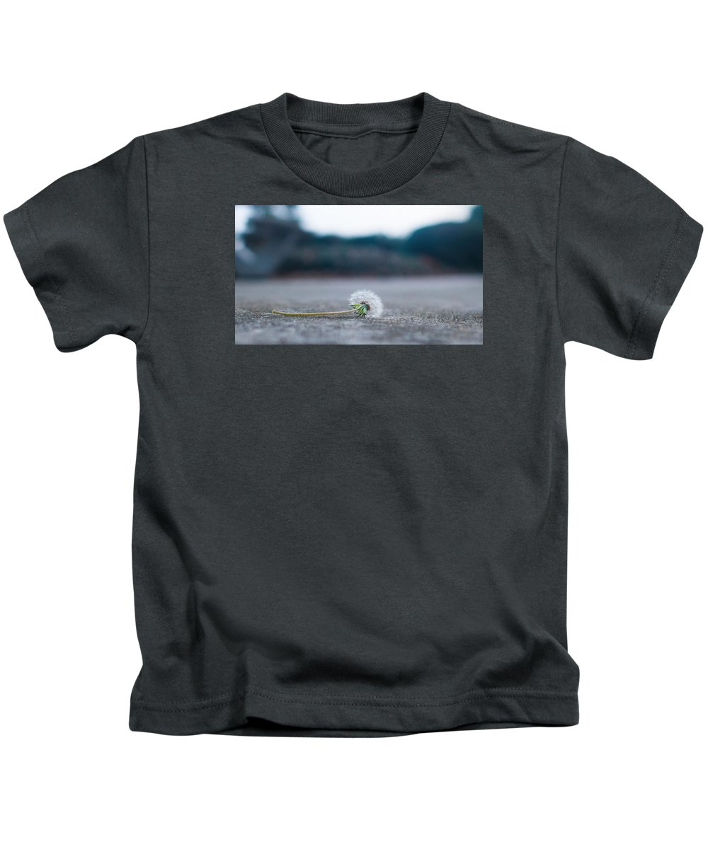 Dandelion Kids T-Shirt featuring the photograph Dandelion by Kenneth Freyer