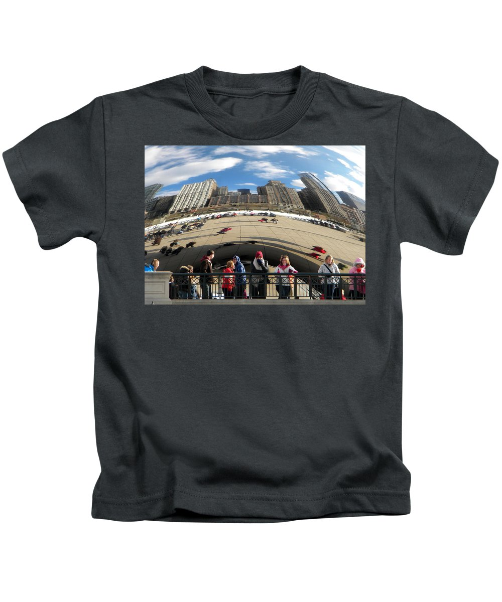 Kids T-Shirt featuring the photograph Day At The Park by Jan Gilmore