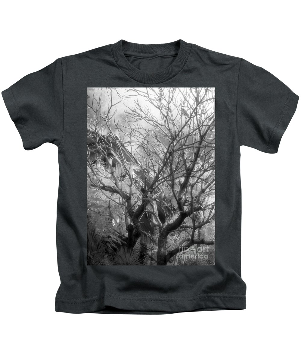 Infrared Photography Kids T-Shirt featuring the photograph Day Dream by Richard Rizzo