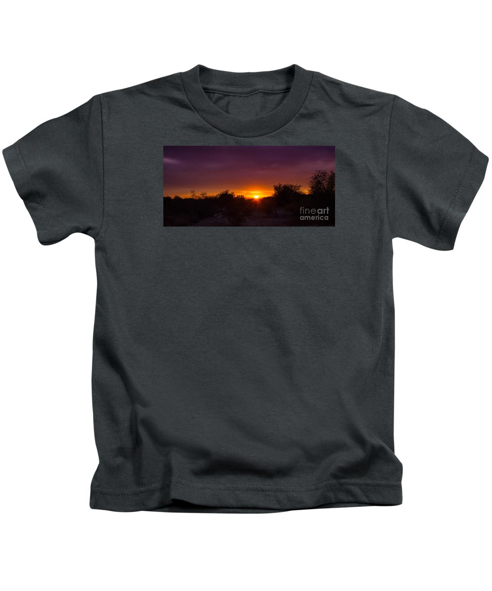Sunrise Kids T-Shirt featuring the photograph Daybreak by Amy Sorvillo