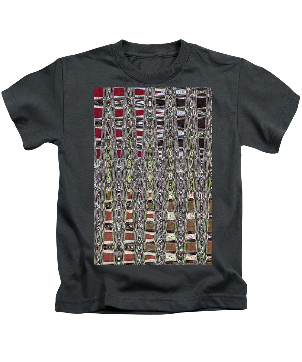 Dead Tree In The Forest Abstract Kids T-Shirt featuring the photograph Dead Tree In The Forest Abstract by Tom Janca