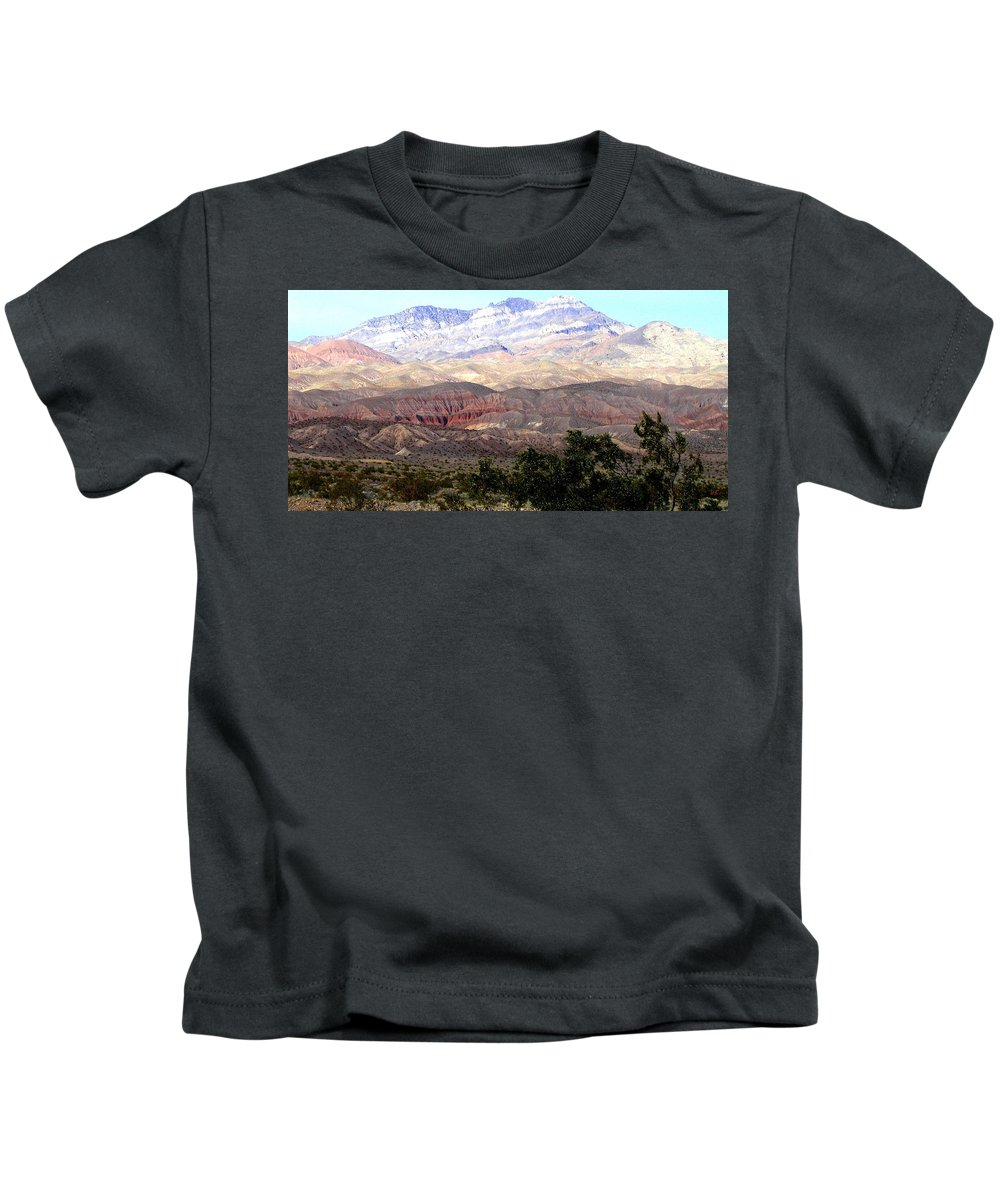Death Valley Kids T-Shirt featuring the photograph Death Valley 1 by Will Borden