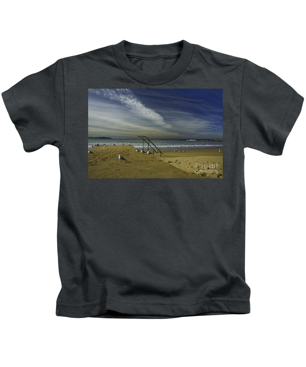 Beach Kids T-Shirt featuring the photograph Dee Why Beach Sydney by Sheila Smart Fine Art Photography