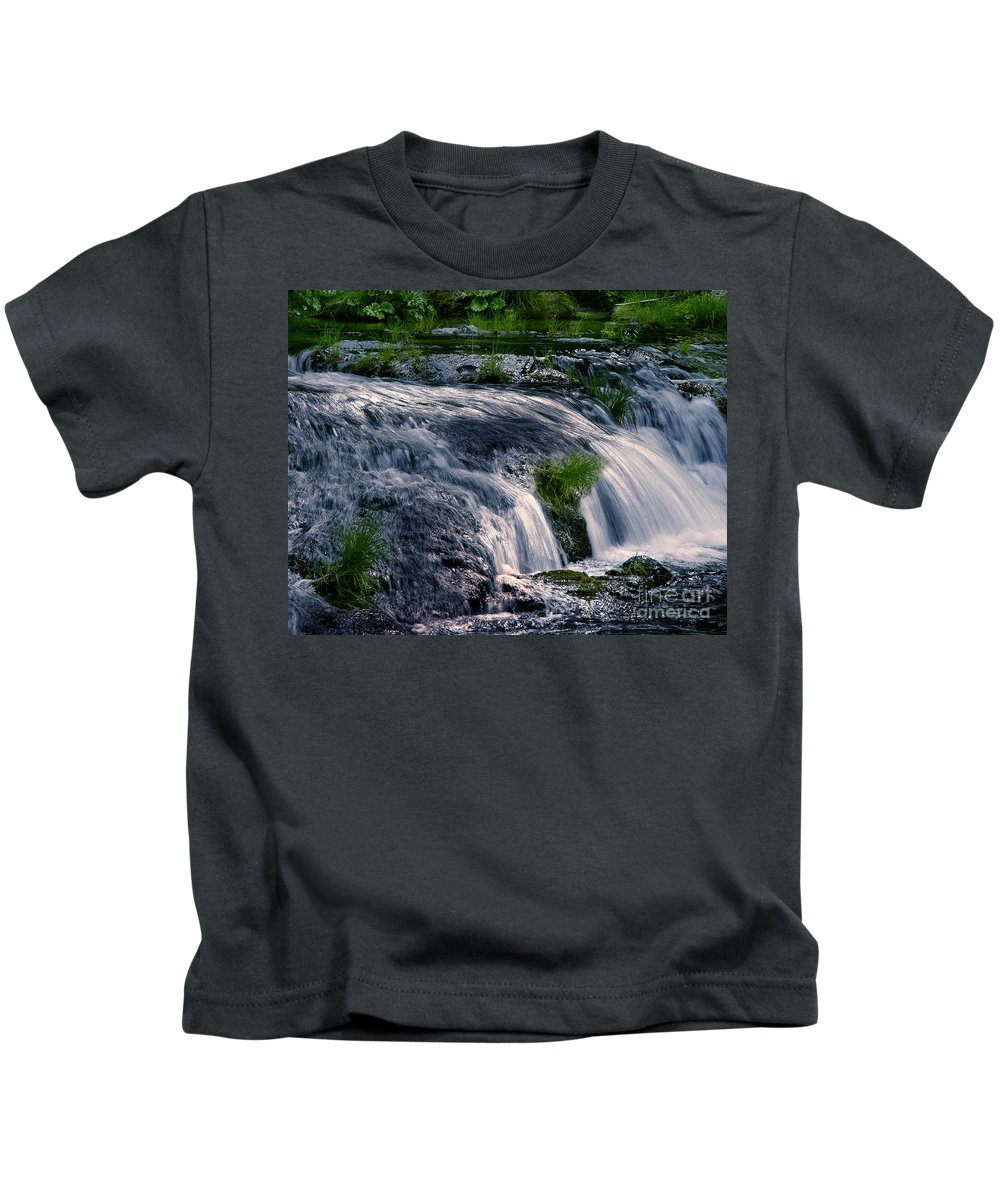 Creek Kids T-Shirt featuring the photograph Deer Creek 01 by Peter Piatt