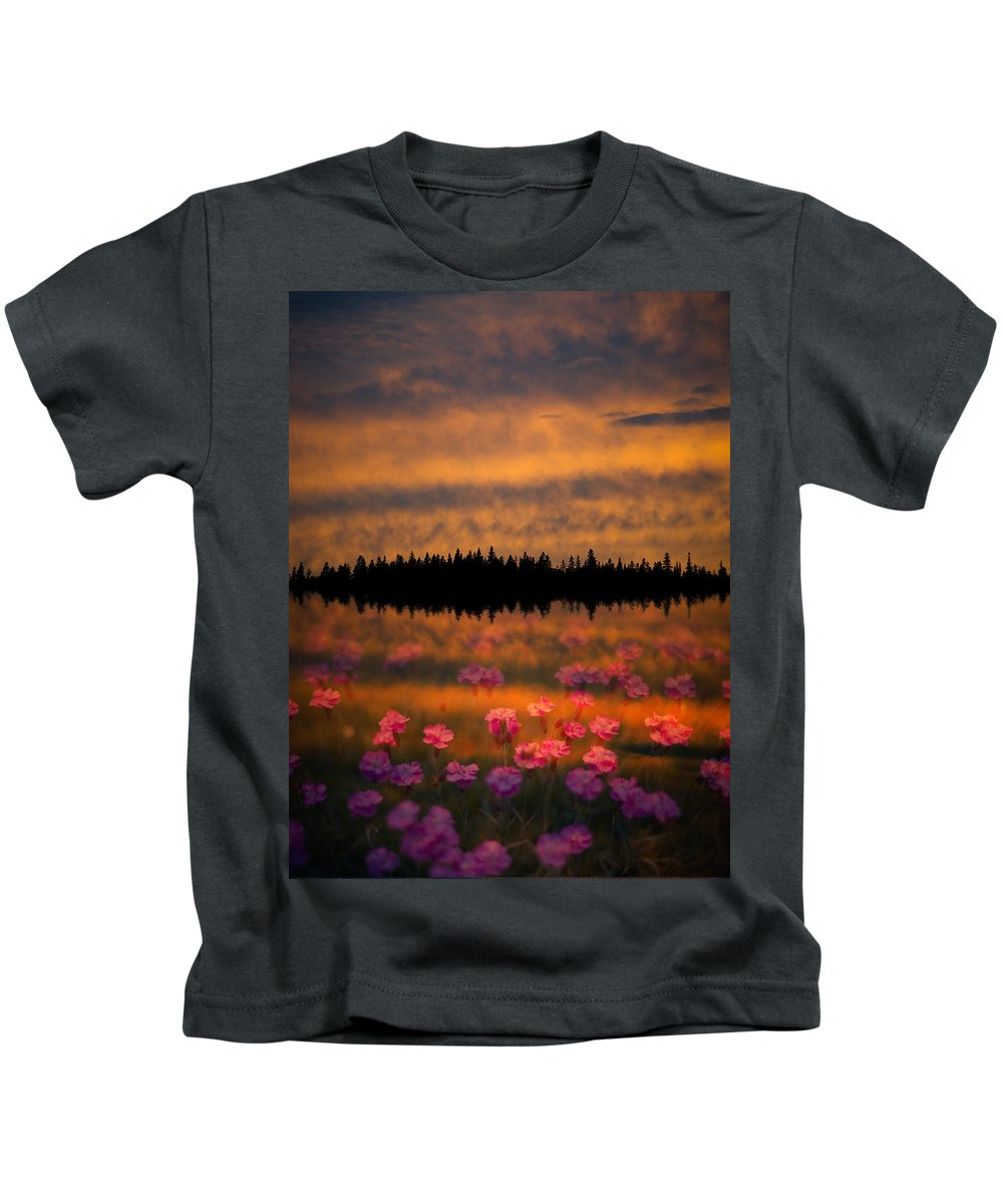 Canada Kids T-Shirt featuring the photograph Destiny by Doug Gibbons