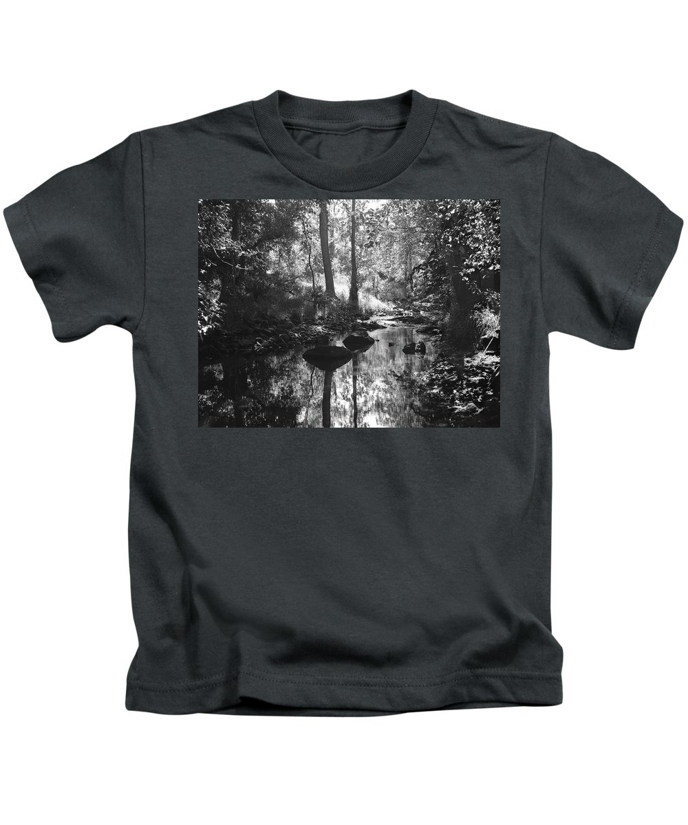 Kids T-Shirt featuring the photograph Devil Water In Sunlight by Iain Duncan