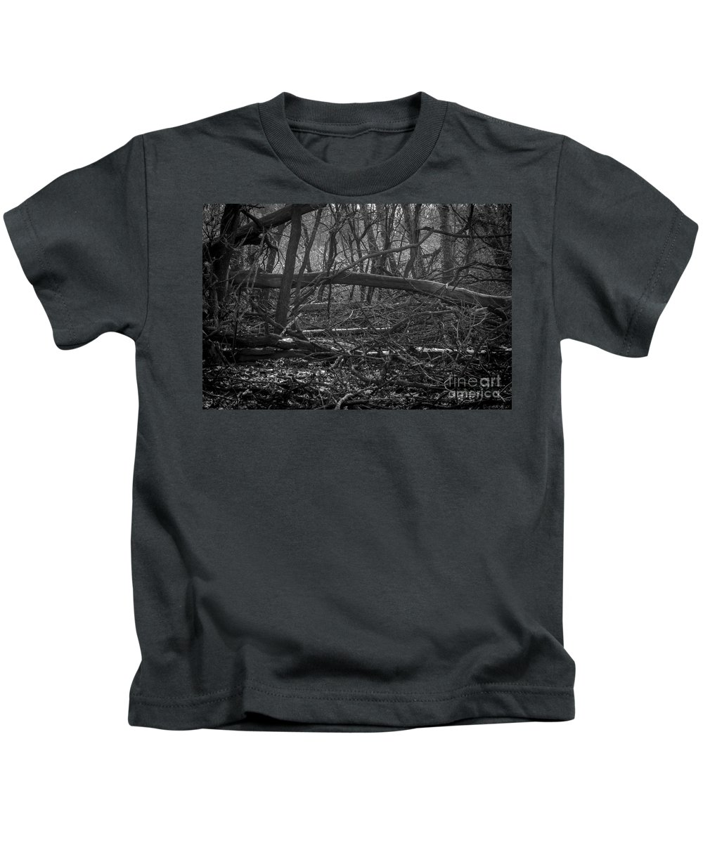 South Dakota Kids T-Shirt featuring the photograph Distant Escape From My Mind by M Dale