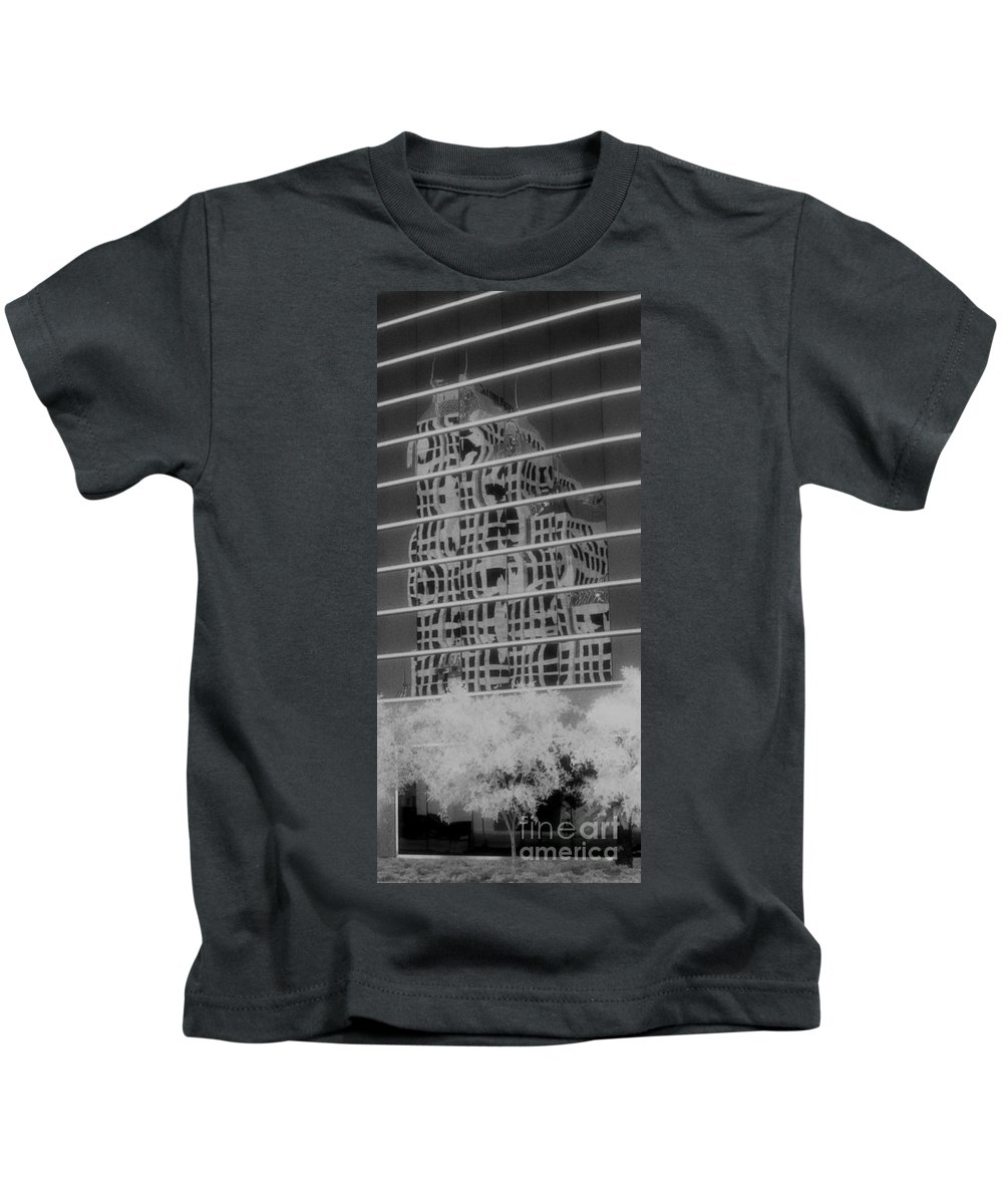 Distorted Kids T-Shirt featuring the photograph Distorted Views by Richard Rizzo