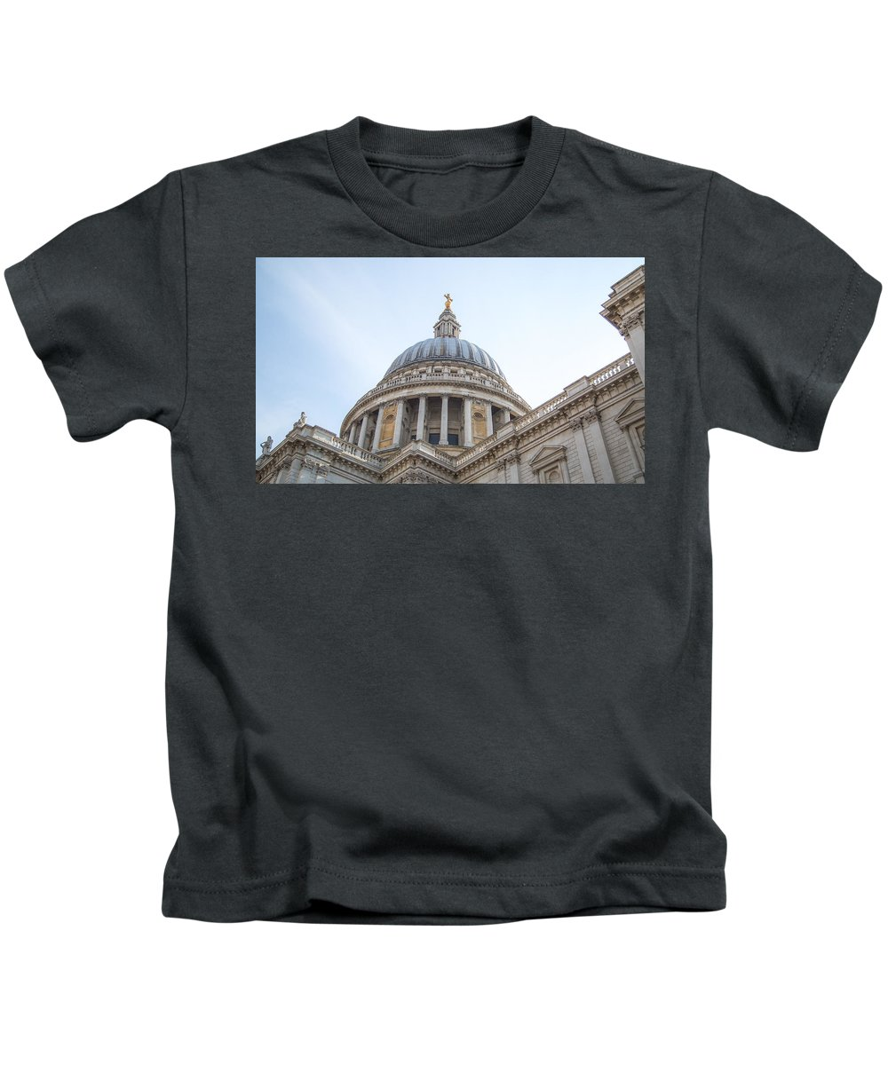 Kids T-Shirt featuring the photograph Dome by Jared Windler
