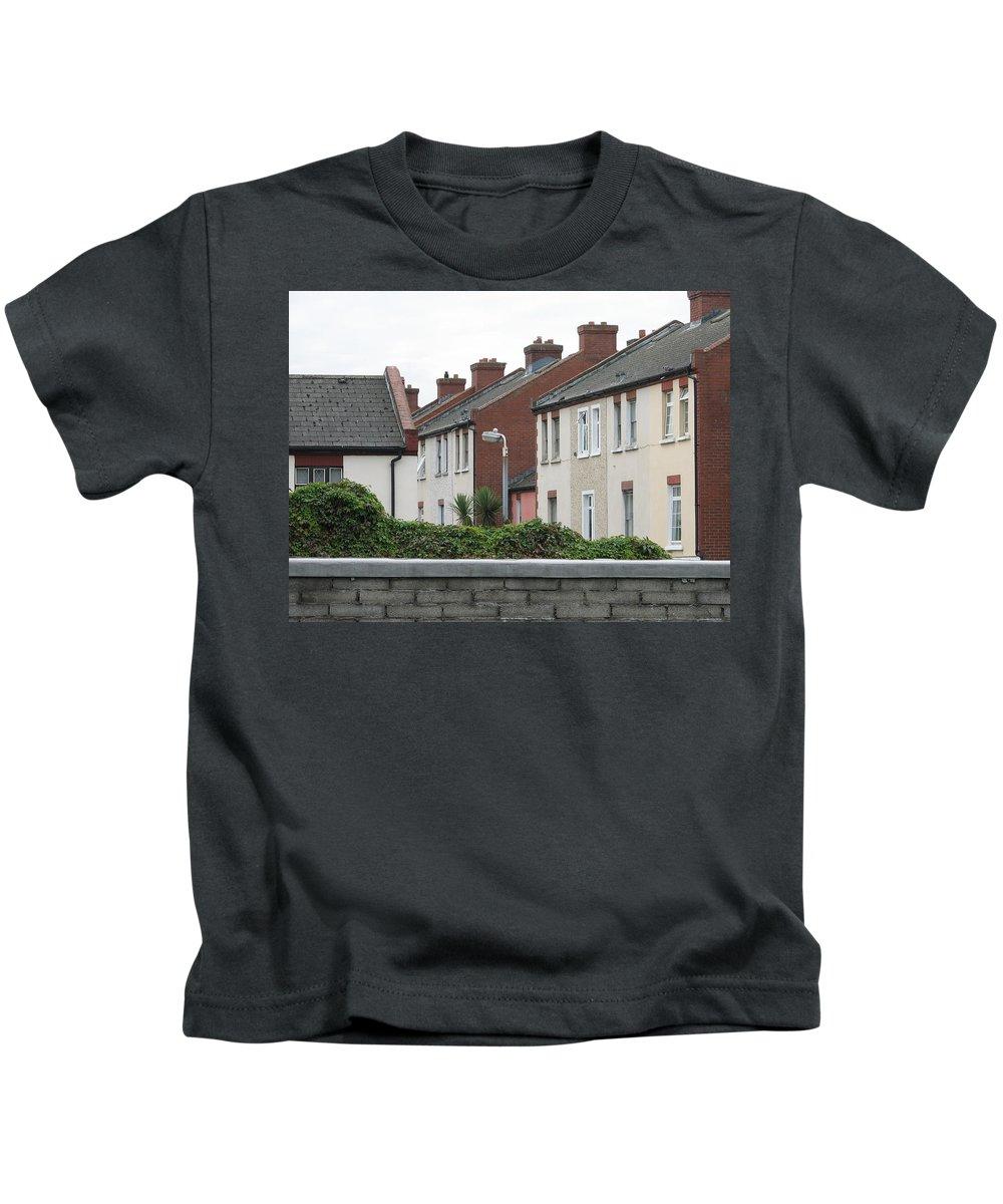 Dublin Kids T-Shirt featuring the photograph Dublin by Kelly Mezzapelle