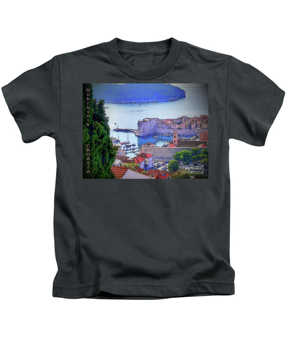 Dubrovnik Kids T-Shirt featuring the photograph Dubrovnik by Lance Sheridan-Peel
