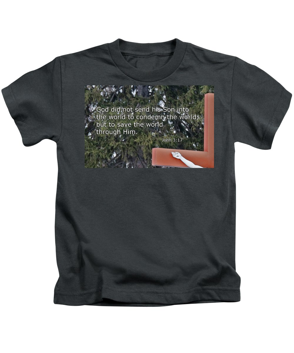 Religion Kids T-Shirt featuring the photograph Easter Thoughts by David Arment