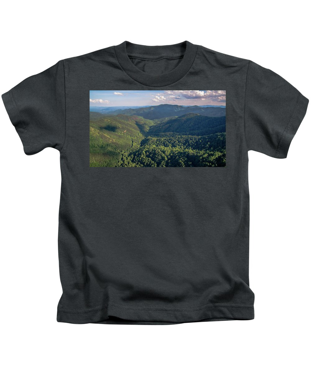 Hazlenut Gap Kids T-Shirt featuring the photograph Eastern Continental Divide by Ryan Phillips