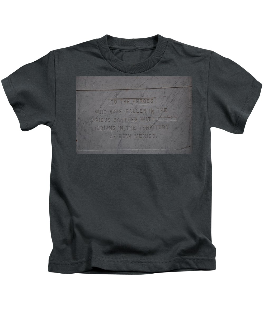Marble Kids T-Shirt featuring the photograph Edited Deleted History by Rob Hans