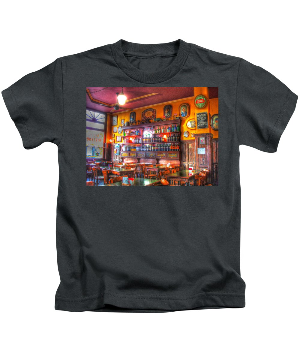 Buenos Aires Kids T-Shirt featuring the photograph El Porteno by Francisco Colon