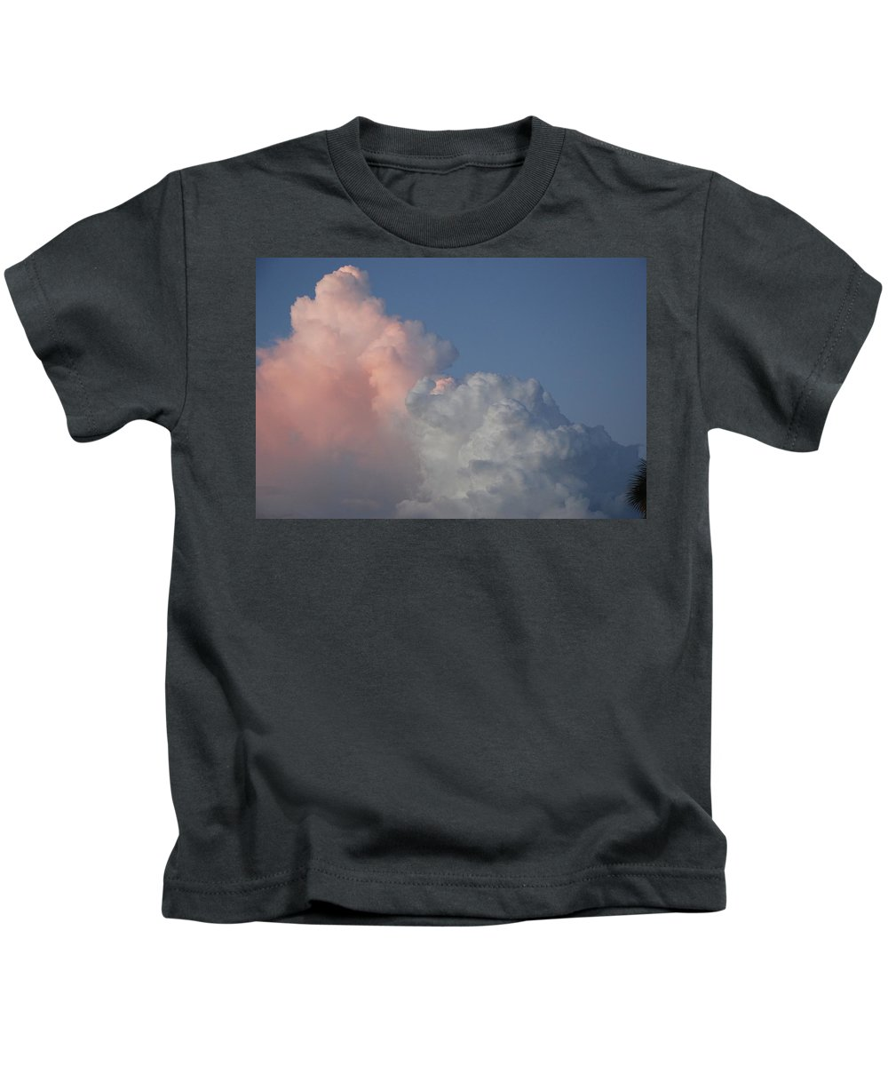 Clouds Kids T-Shirt featuring the photograph Elephant Cloud by Rob Hans
