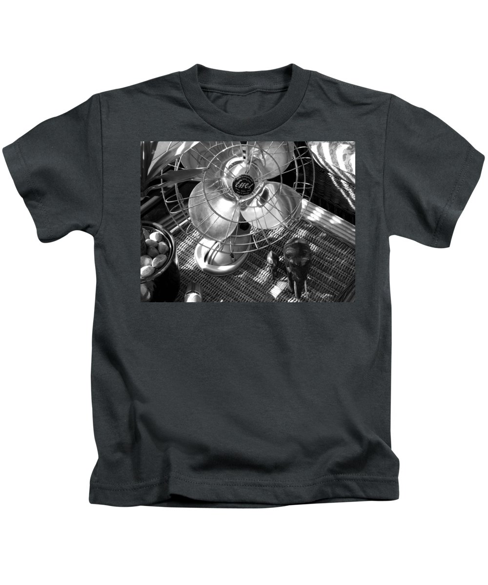 Still Life Kids T-Shirt featuring the photograph Elephant Walk by Charles Stuart