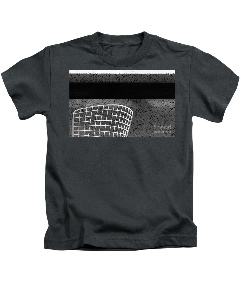 Cityscapes Kids T-Shirt featuring the photograph Embarcadero Chair by Norman Andrus