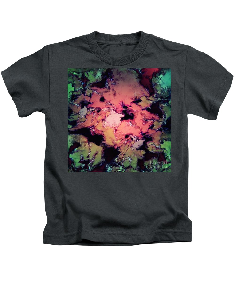 Embrace Kids T-Shirt featuring the digital art Embrace by Keith Mills