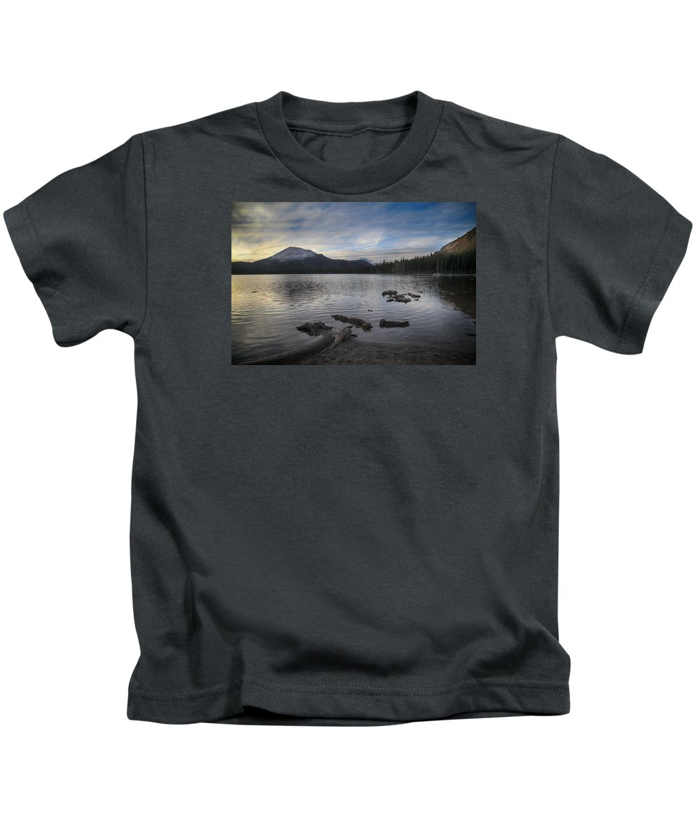 Lake Mary Kids T-Shirt featuring the photograph Even Though It's Been So Long by Laurie Search