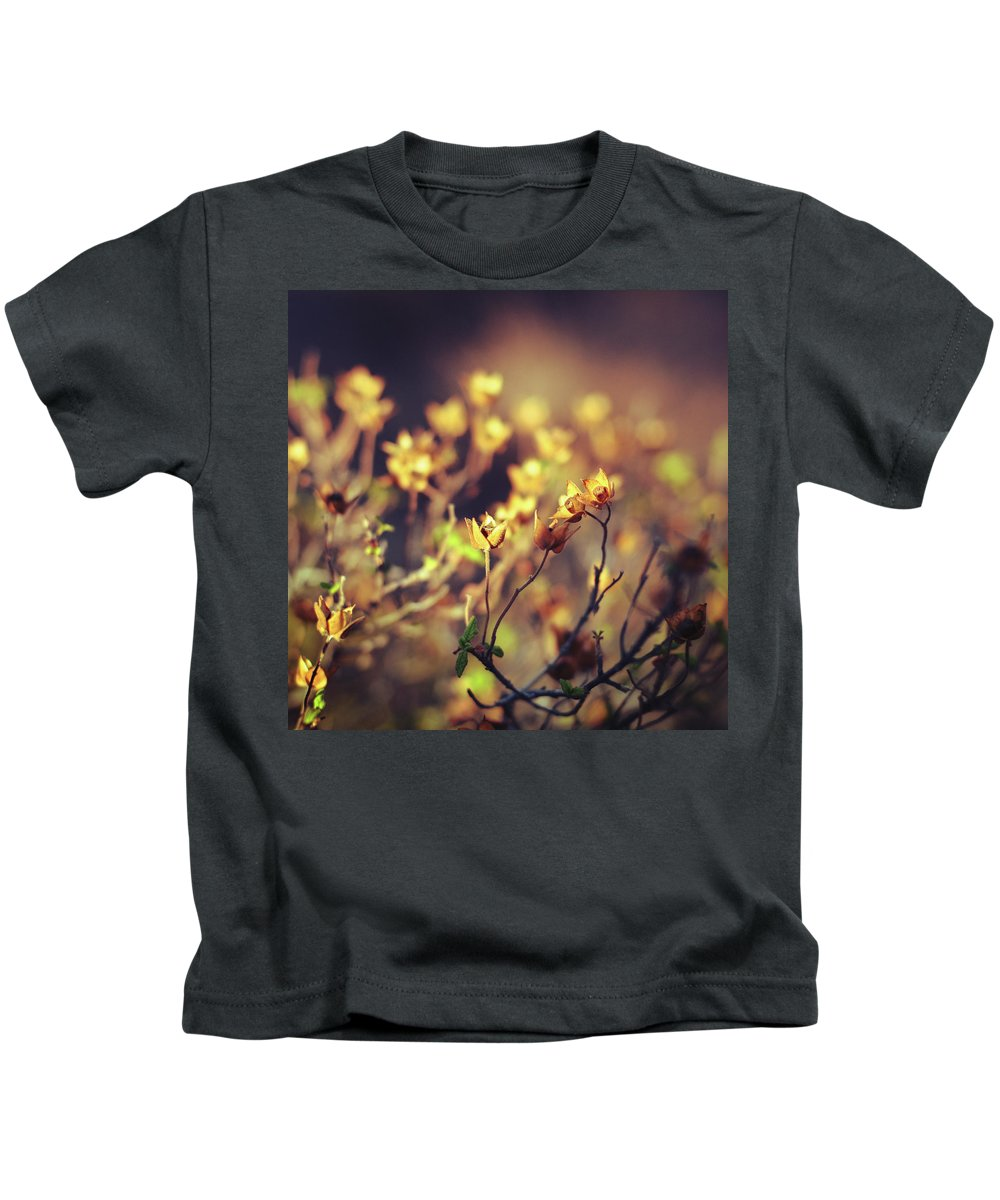 Wild Flowers Kids T-Shirt featuring the photograph Le Desir by Zapista Zapista