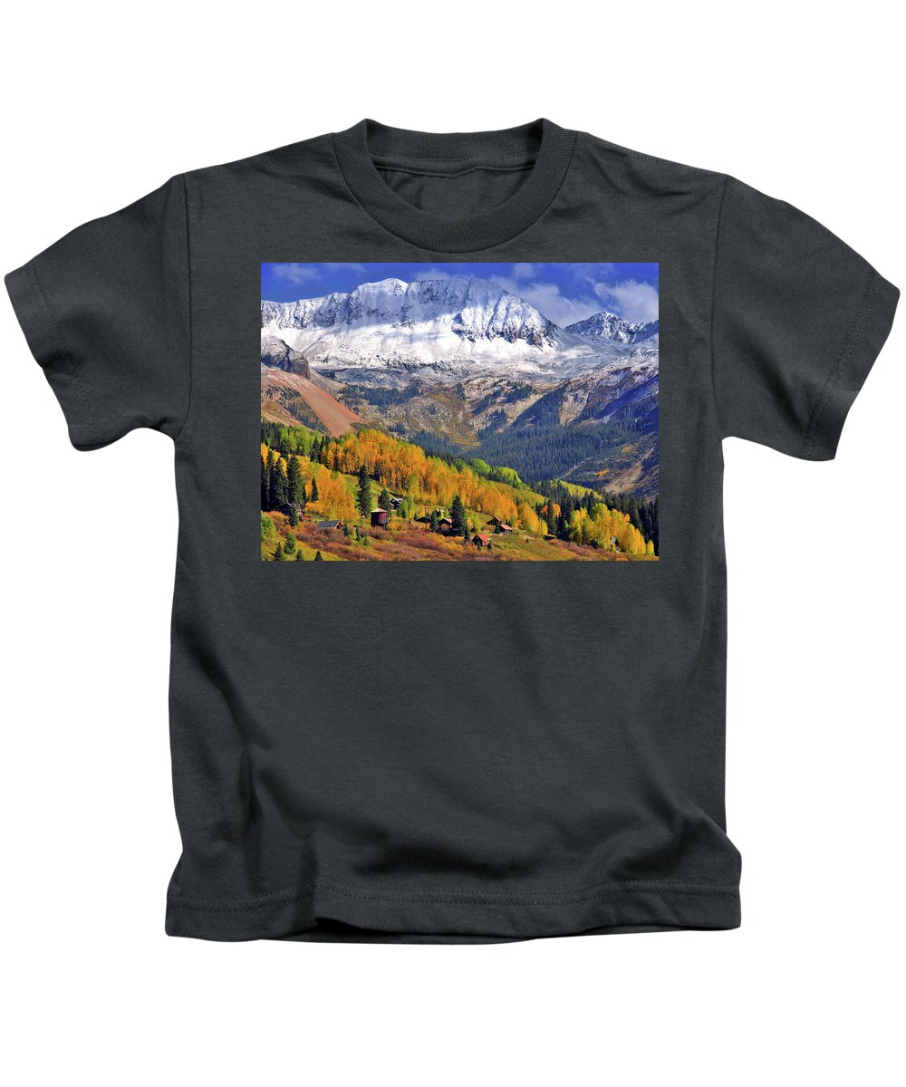 Fall Kids T-Shirt featuring the photograph Fall Beauty by Scott Mahon