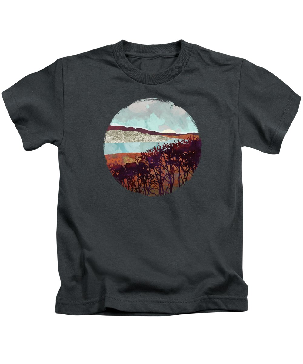 Fall Kids T-Shirt featuring the digital art Fall Foliage by Spacefrog Designs