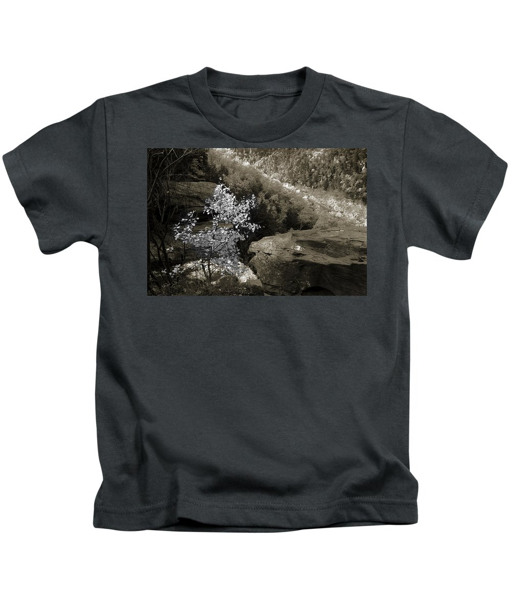Nature Kids T-Shirt featuring the photograph Fall Foliage by Yuri Lev