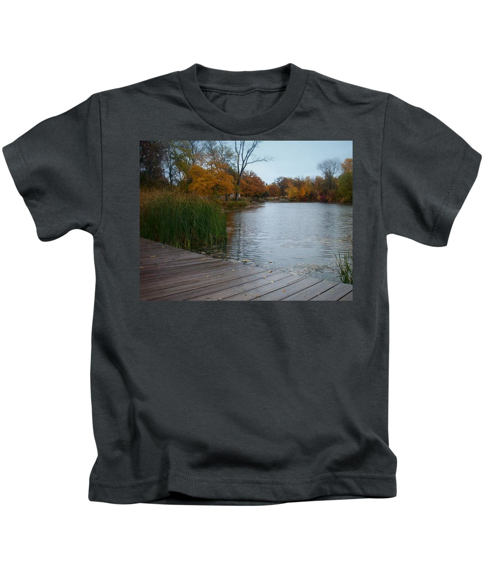 Fall Kids T-Shirt featuring the photograph Fall Series 10 by Anita Burgermeister