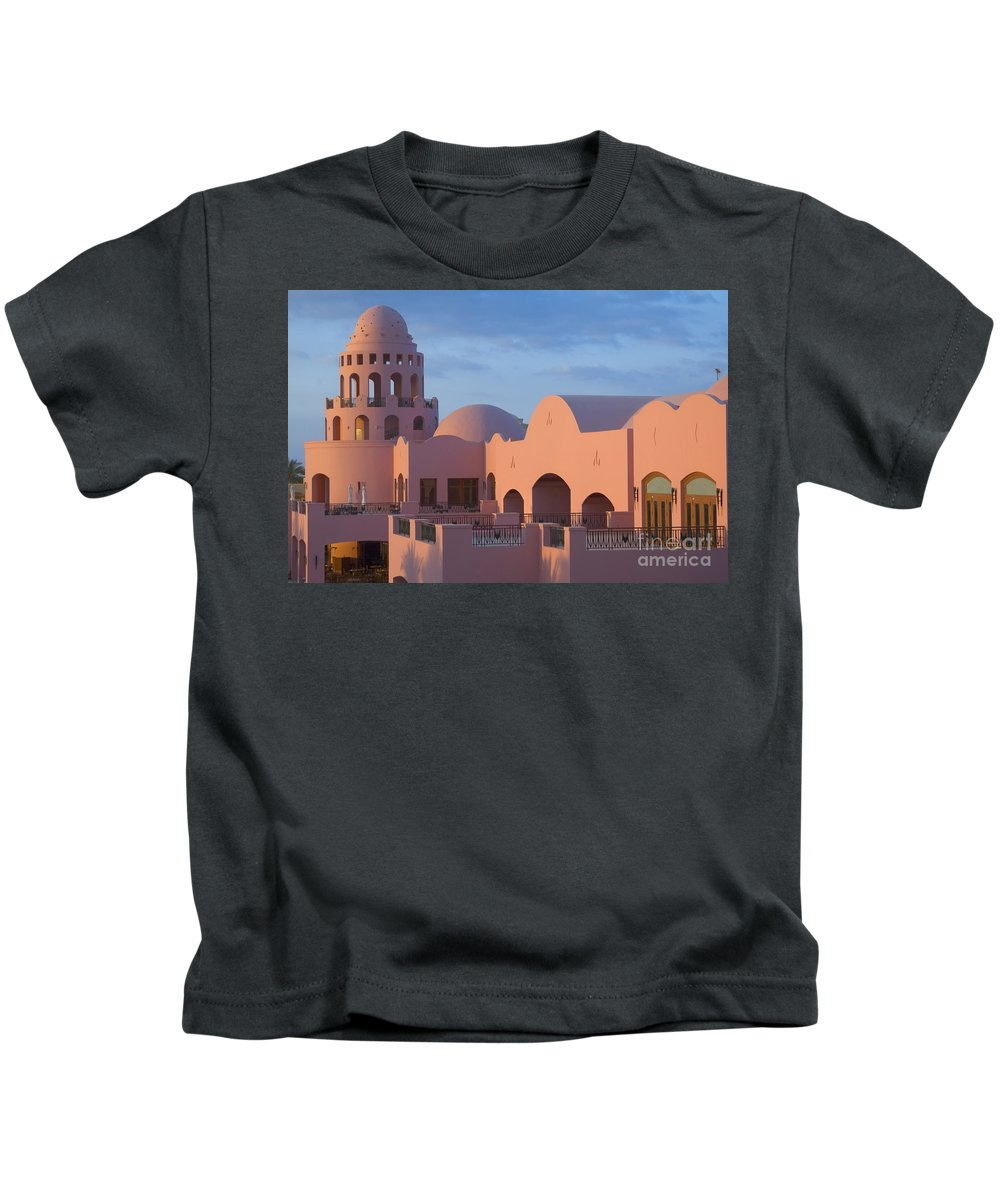 Culture Kids T-Shirt featuring the photograph Fantasy Castle by Ilan Rosen
