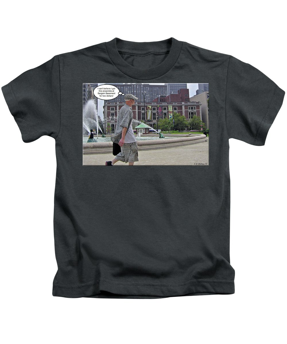 2d Kids T-Shirt featuring the photograph Fashion by Brian Wallace
