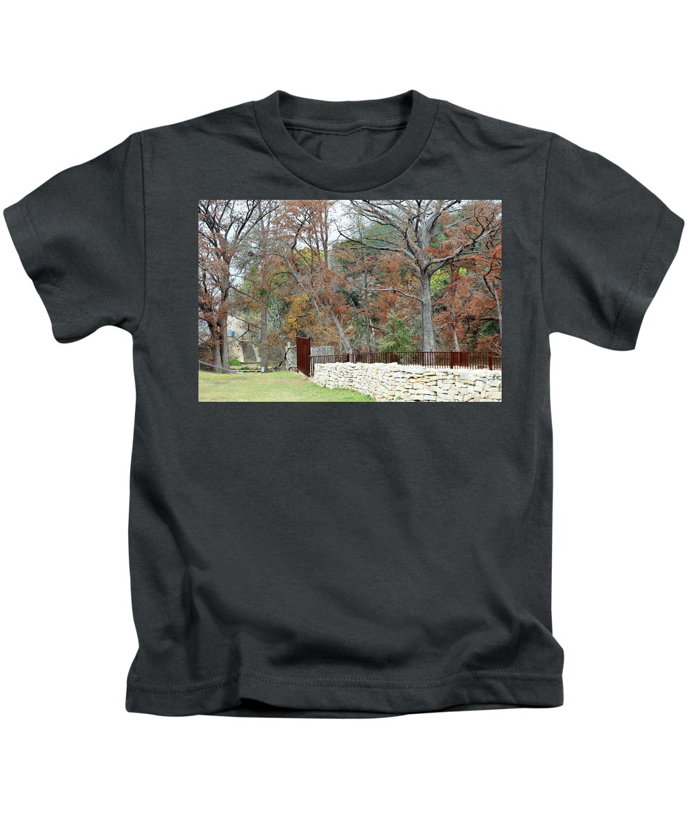 Kids T-Shirt featuring the photograph Fen046 by Jeff Downs