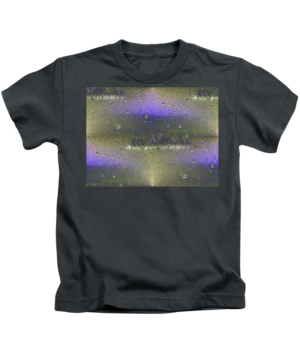 Seattle Kids T-Shirt featuring the photograph Ferry In The Fog by Tim Allen