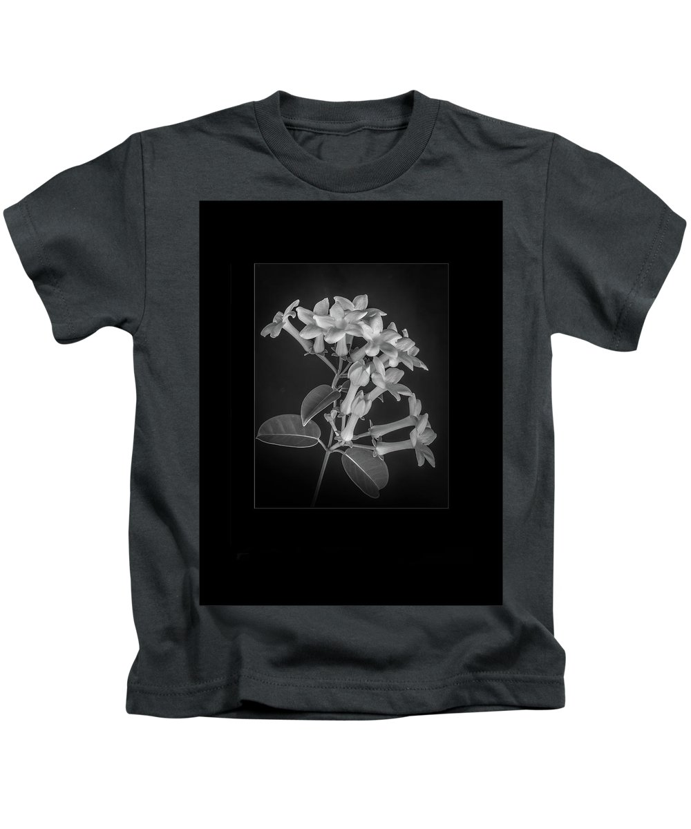 Estephanotis Kids T-Shirt featuring the photograph Fine Art Framed Study Of Estephanotis- by Peter Hayward Photographer