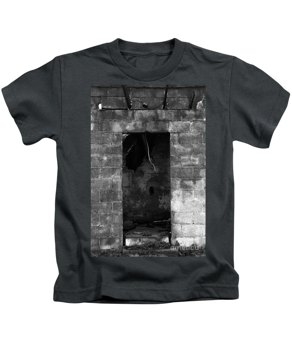 Fire Kids T-Shirt featuring the photograph Fire by Amanda Barcon