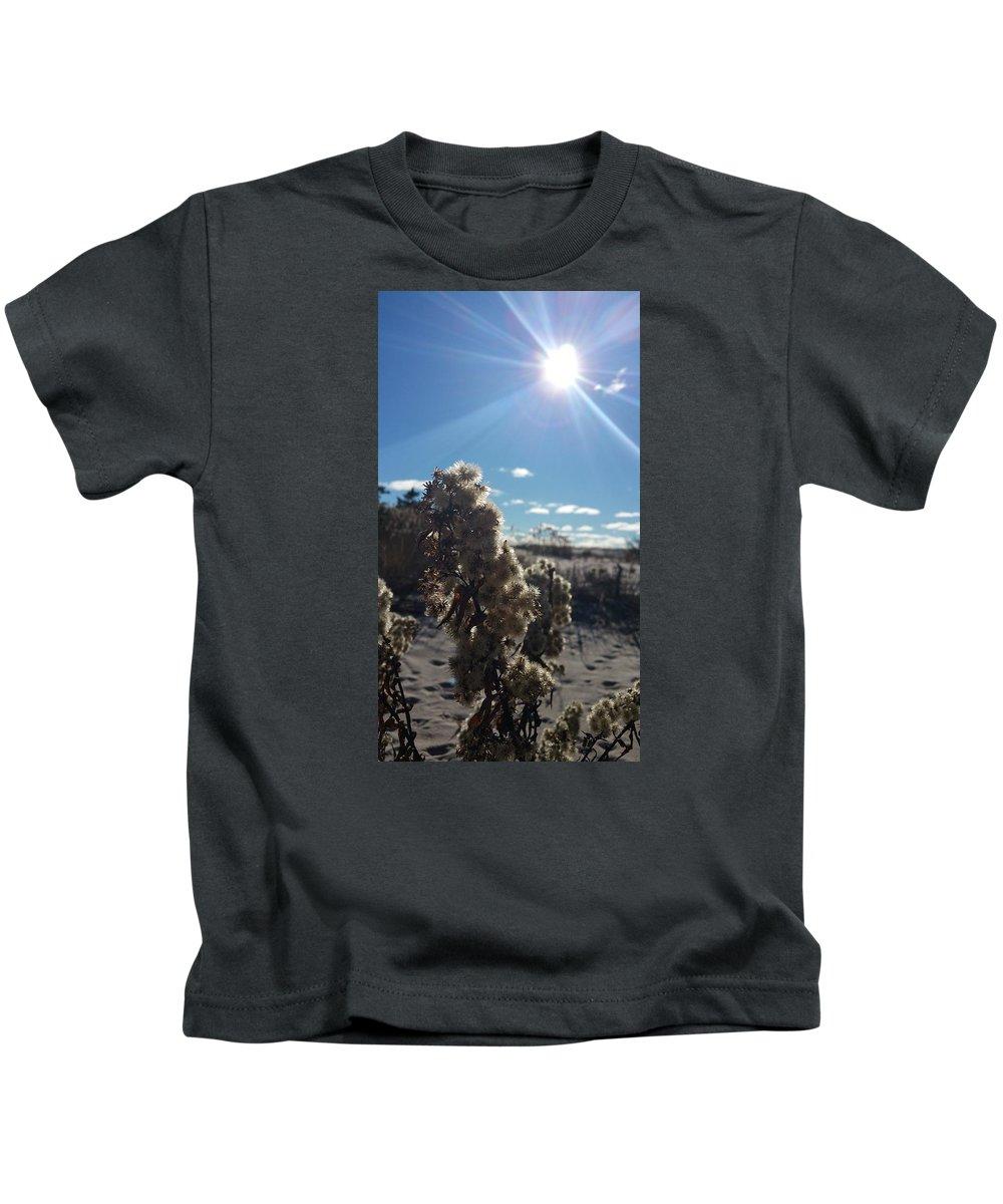 Fire Island Kids T-Shirt featuring the photograph Fire Island by Danielle Attanasio