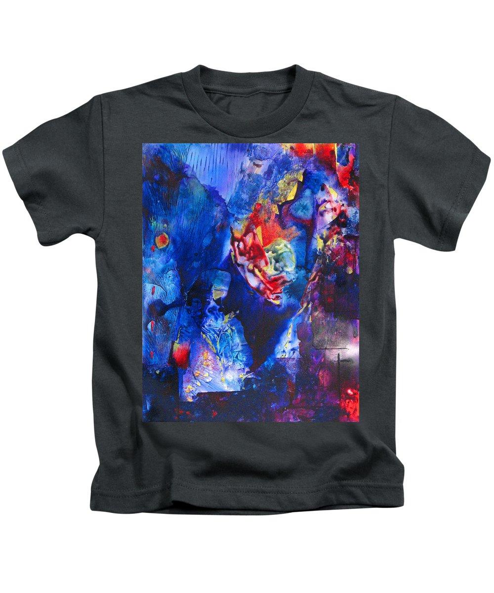 Violent Kids T-Shirt featuring the painting Flak'd by Janice Nabors Raiteri
