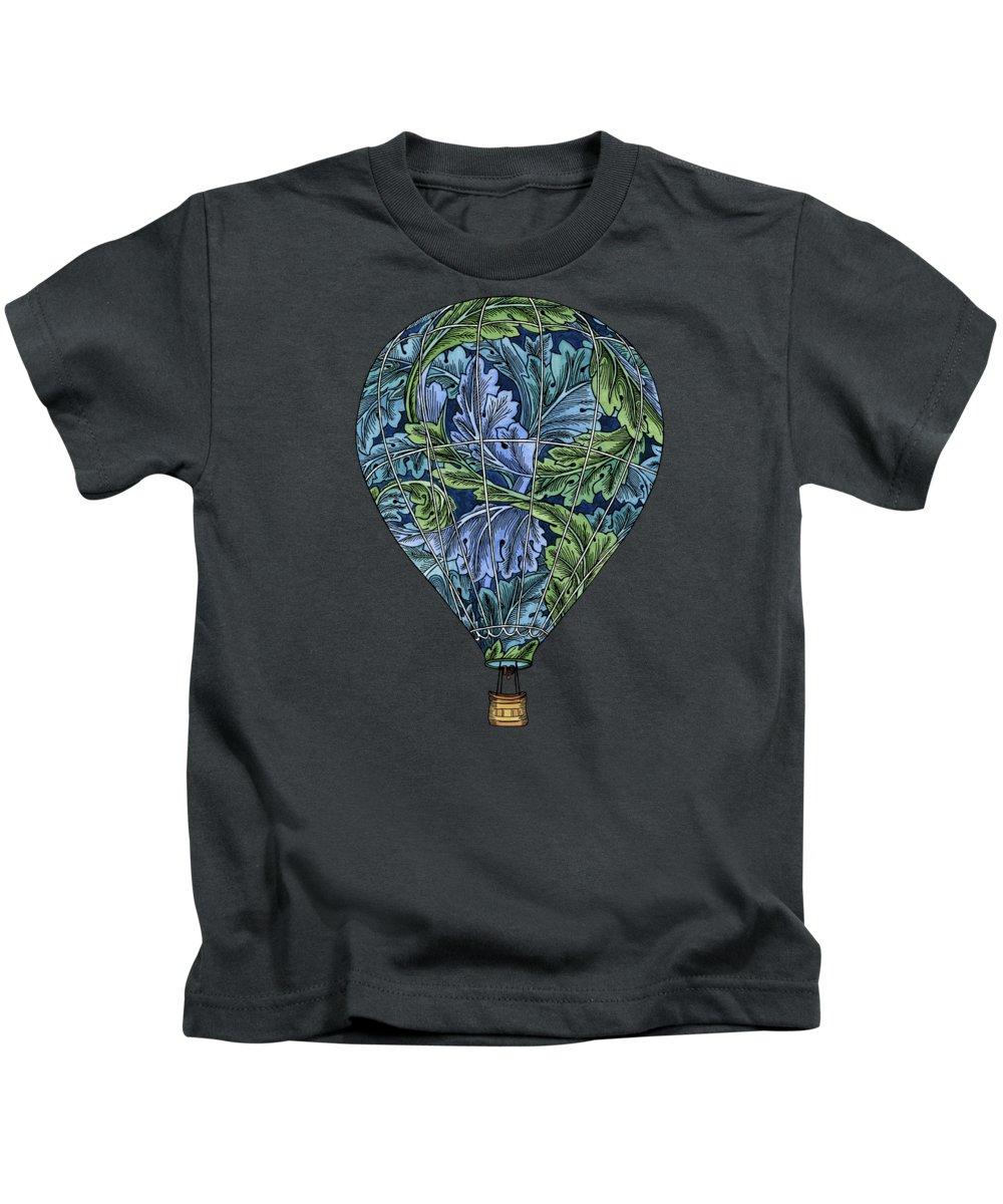 Hot Air Balloons Paintings Kids T-Shirts