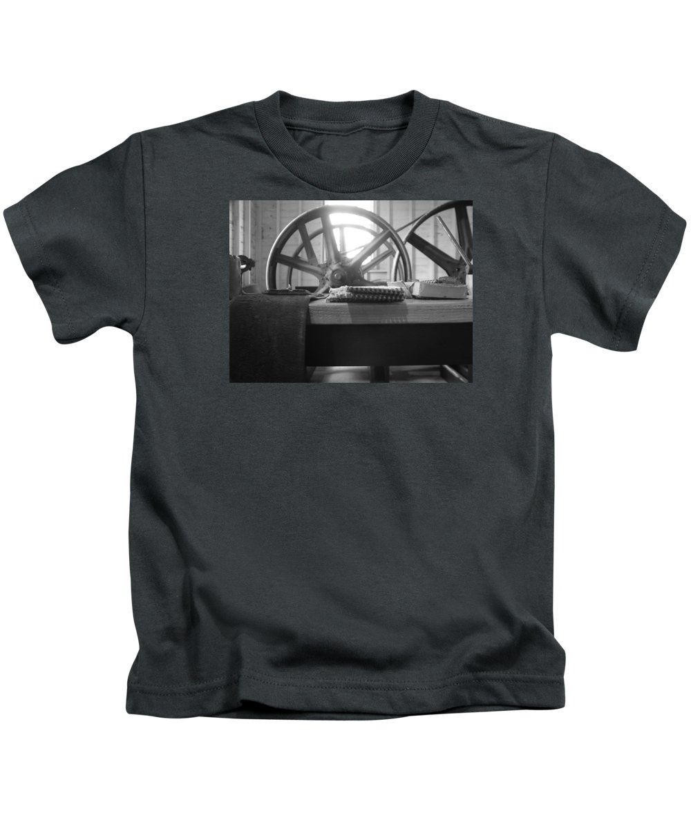Mill Kids T-Shirt featuring the photograph Flour Mill by Christina Bailey
