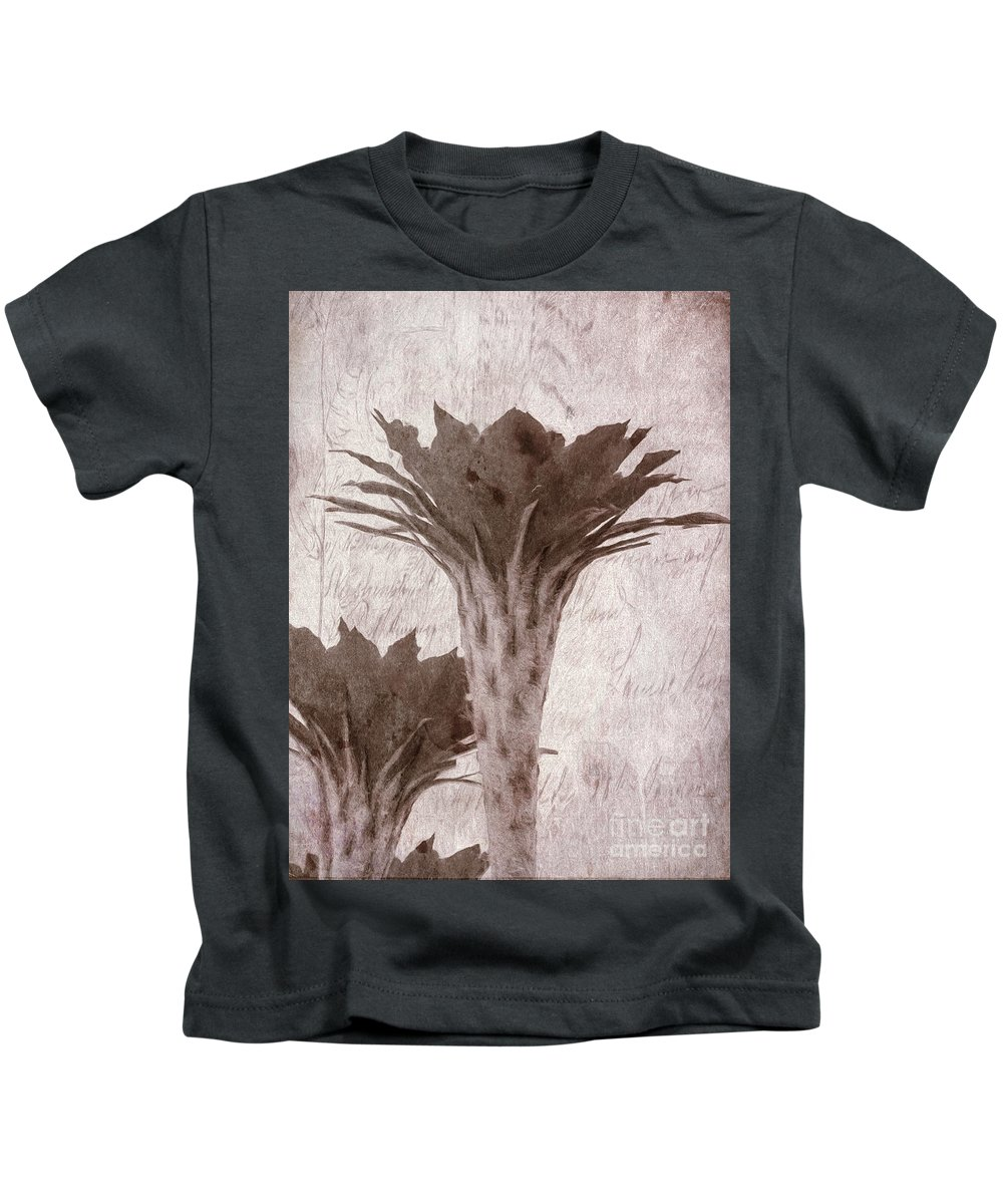 Flower Kids T-Shirt featuring the photograph Flower-g by Larry White