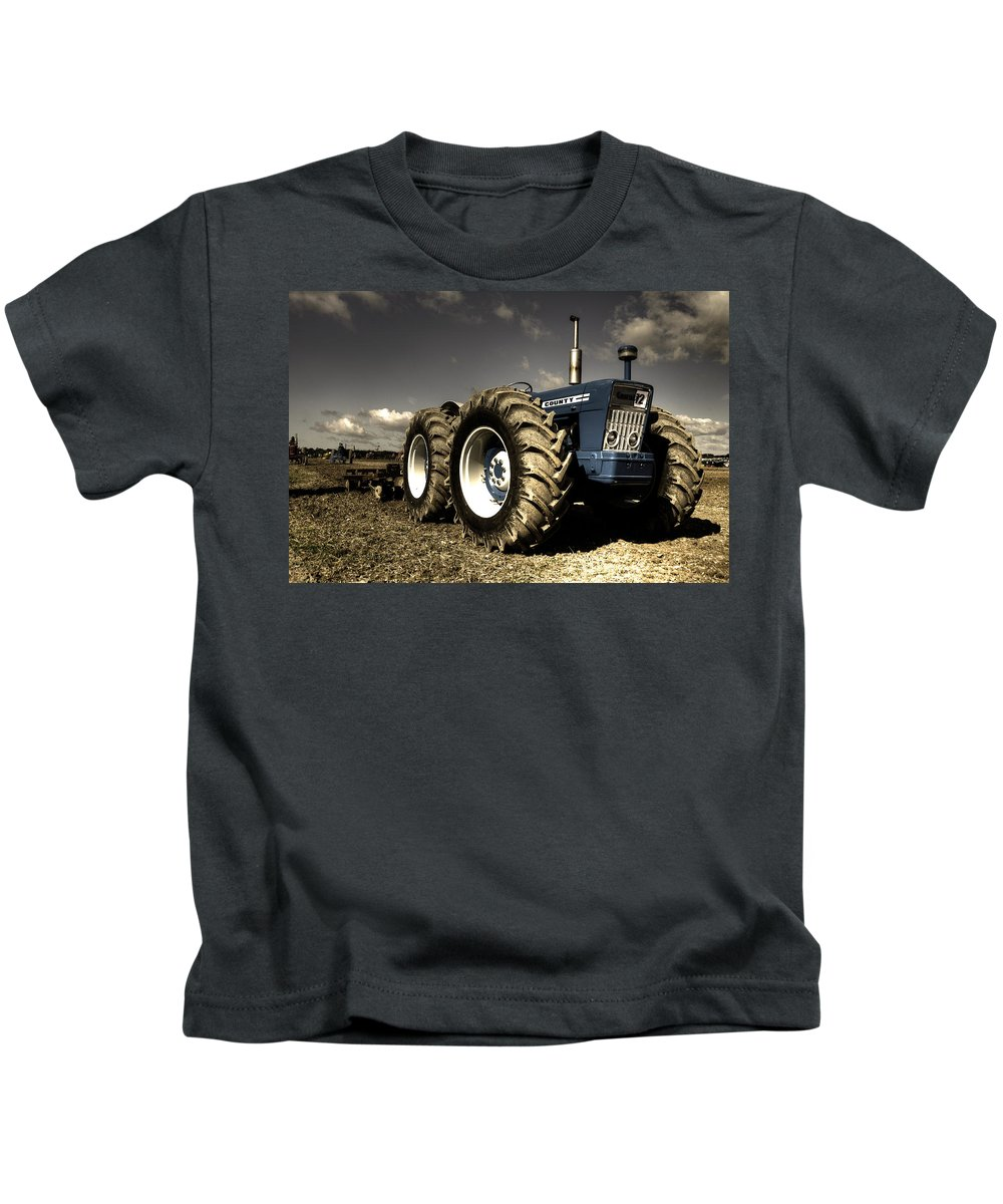 Ford Kids T-Shirt featuring the photograph Ford County 4x4 by Rob Hawkins