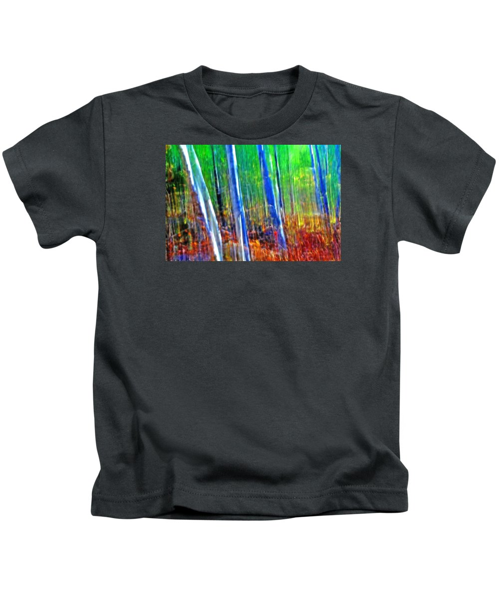Forest Kids T-Shirt featuring the photograph Forest Magic by Bill Morgenstern