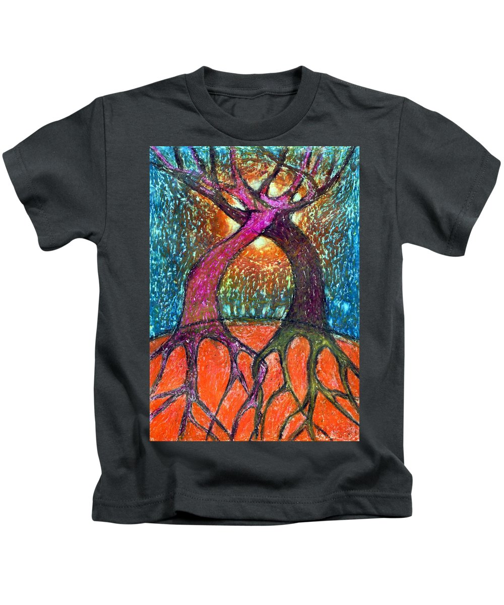 Colour Kids T-Shirt featuring the mixed media Forget About Light by Wojtek Kowalski