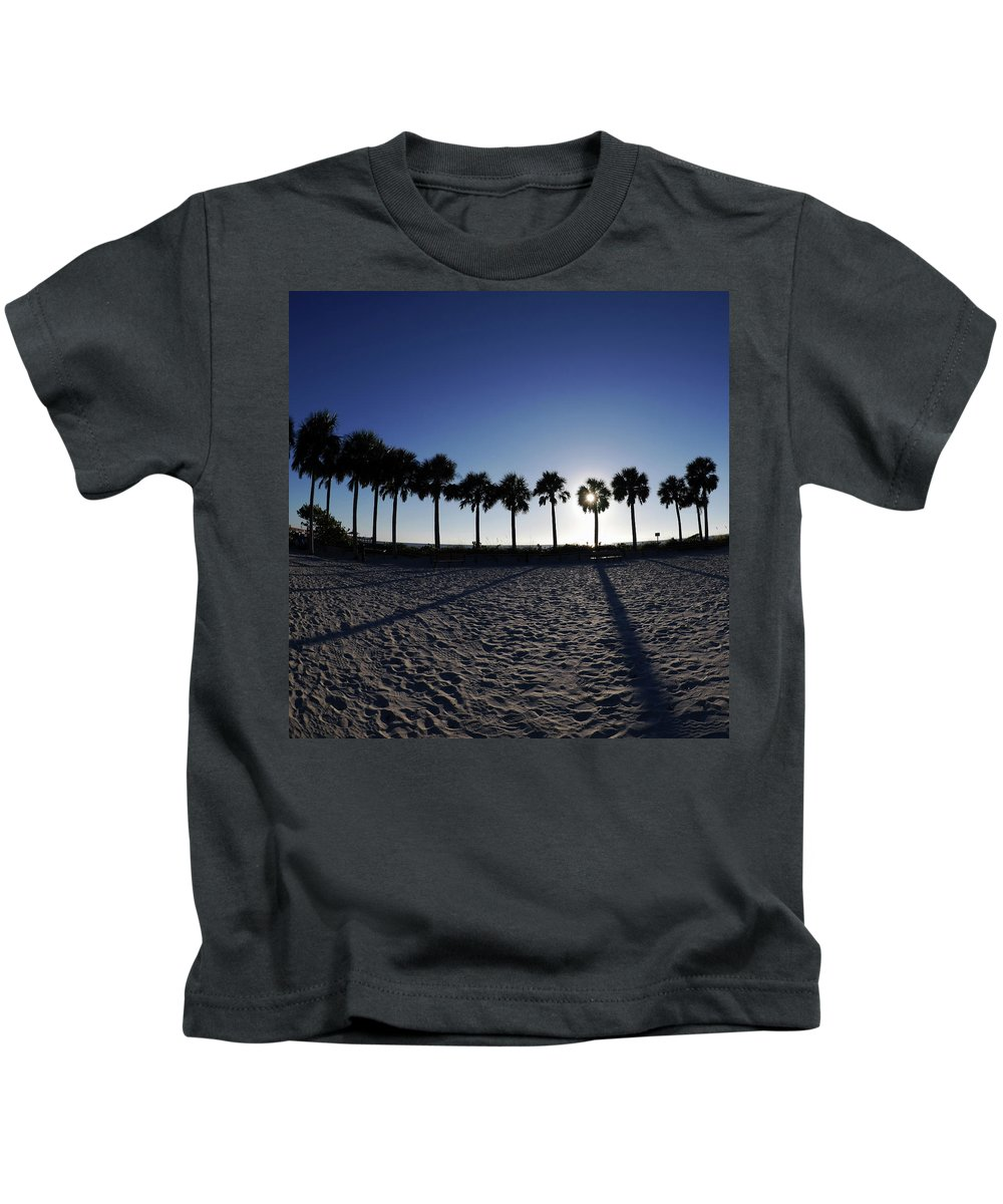 Florida Kids T-Shirt featuring the photograph Fort Myers Beach Florida I by Tina Baxter